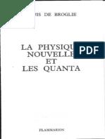 La Physique Nouvelle Et Les Quanta - De Broglie -1