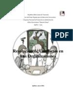 Resolucion de Conflictos en Las Organizaciones YAN-NOHE