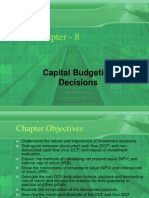 Capital Budgeting a nice finance topic helpful for mba and bba students