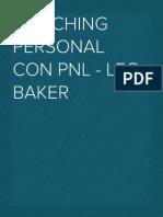 Coaching Personal Con Pnl - Leo Baker