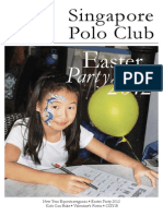 Singapore Polo Club Magazine
