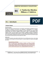 DDC 01 - A Tutela Dos Interesses Difusos e Coletivos