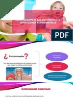 Exposicion Enfermedades y Condiciones Periodontales