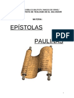 FOLLETO EPISTOLAS PAULINAS