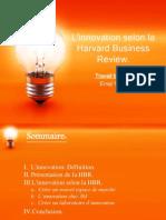 L'Innovation Selon La Harvard Business Review