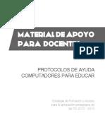 Material de Apoyo Para Docentes - Protocolos de Ayuda