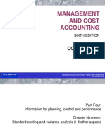 mgmt and cost accounting- colin drury