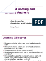 variance analysis  standard costing 2