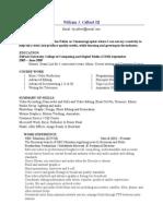 WCalbert Web Resume