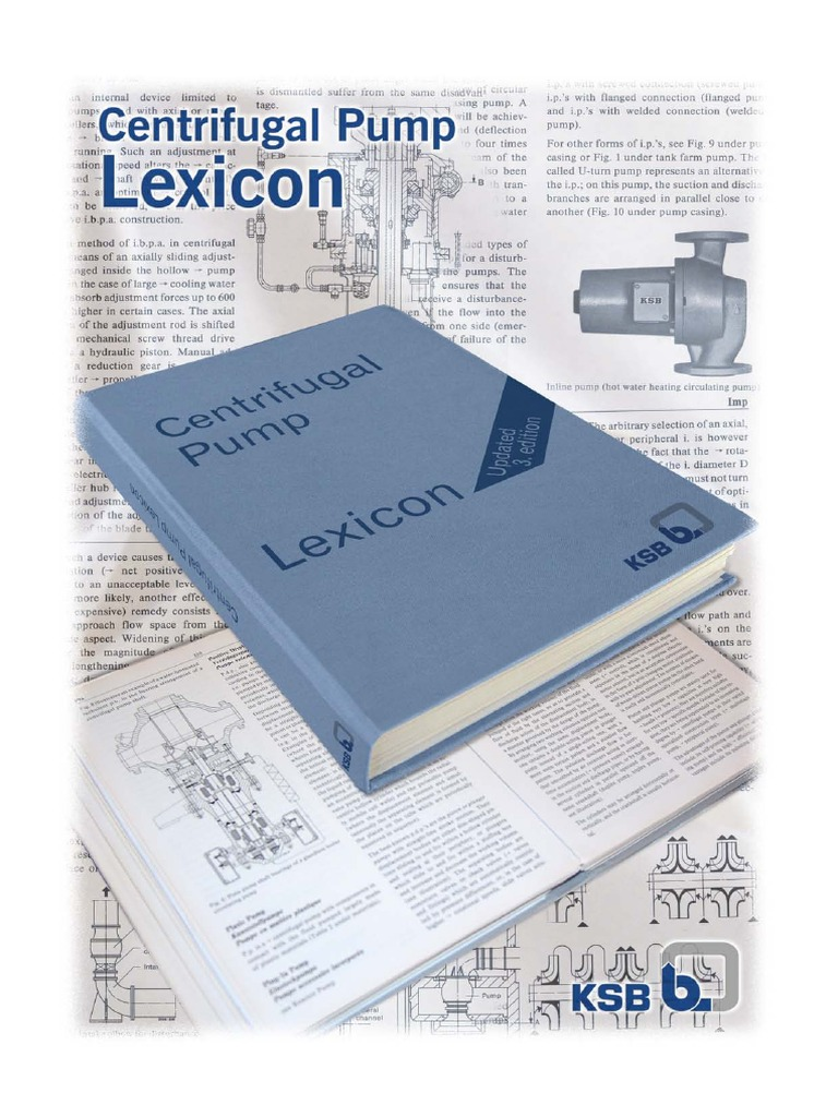 KSB Centrifugal Pump Lexicon | Bearing (Mechanical) | Pump