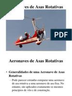 Aeronaves de Asas Rotativas
