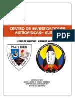 Centro de Investigaciones Astrofisicas-proyecto Secretaria de Educacion 2010