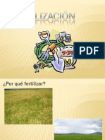 Cálculos de fertilización