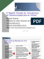 O Negócio  Provedor de Infra-estrutura Utilities v Inatel