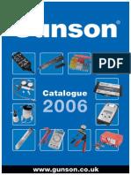 Gunson Product 06 Catalogue