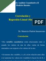 Clase 1 (10 Febrero 2014) Correlacion y Regresion Lineal