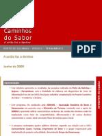 PP 02-08-2 Caminhos do Sabor - Relatório Final - Porto de Galinhas