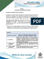 Actividad de Aprendizaje Unidad 1- Principios y Tipos de Auditorias