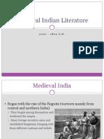 Medieval Indian Literature