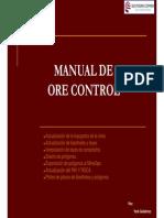 Manual de Ore Control