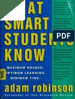 What Smart Students Know Maximum Grades, Optimum Learning, Mini