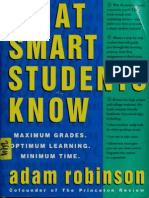 What Smart Students Know Maximum Grades, Optimum Learning, Mini