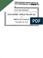 Fm7-20 1942 Obsolete Rifle Battalion