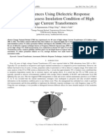 TNB Experiences Using Dielectric Response Technique to Assess Insulation Condition of High Voltage CT