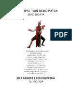 Deskripsi Tari Remo Putra