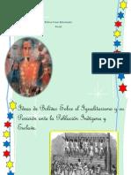 Bolivar Como Reformador Social
