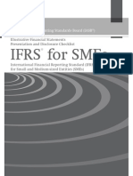 International Accounting Standards Board (IASB® ) Illustrative Financial Statements Presentation