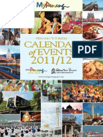 Penang 2012 Event Calender