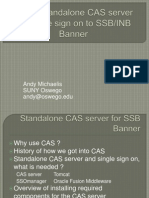 Fall Wizard 2012 - SUNY Oswego - Standalone CAS Server