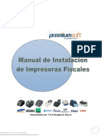 Manual de Instalación Impresoras fiscales
