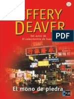 Jeffery Deaver [Lincoln Rhyme04 El Mono de Piedra