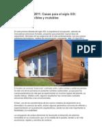Arquitectura casas pequeñas y flexibles