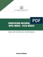CNB Ciencias Naturales