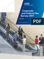 Corporate and Indirect Tax Survey 2011 (KPMG 2011)