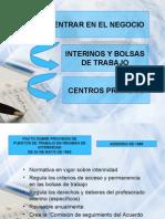 INTERINOS Y BOLSAS DE TRABAJO