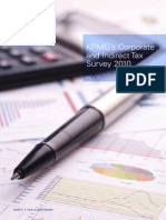 Corporate and Indirect Tax Survey 2010 (KPMG 2010)