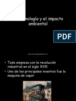 La tecnología y el impacto ambiental