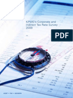 Corporate and Indirect Tax Survey 2009 (KPMG 2009)