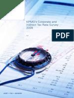 Corporate and Indirect Tax Survey 2009 (KPMG 2009)