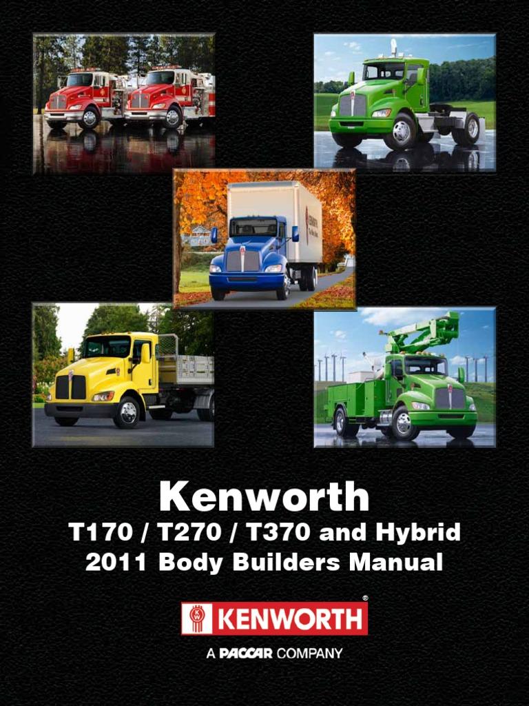 kenworth medium duty bbm dec 2011 vehicles safety rh scribd com 2017 kenworth t270 fuse box location 2014 kenworth t270 fuse box location