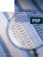 Corporate and Indirect Tax Survey 2008 (KPMG 2008)