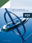 Corporate and Indirect Tax Survey 2007 (KPMG 2007)