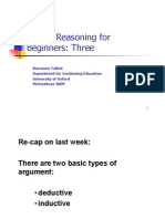 Setting Out Arguments Logic Book Sty