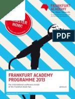 Academy Programm Juni2013 e