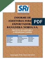 Exportadora Bananera Noboa s.a. Informe