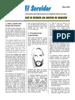 55Serv200305 - POR QUÉ Y PARA QUÉ SE REÚNEN LOS GRUPOS DE ORACIÓN